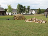 Sweat Lodge at Fort William Historical Park
